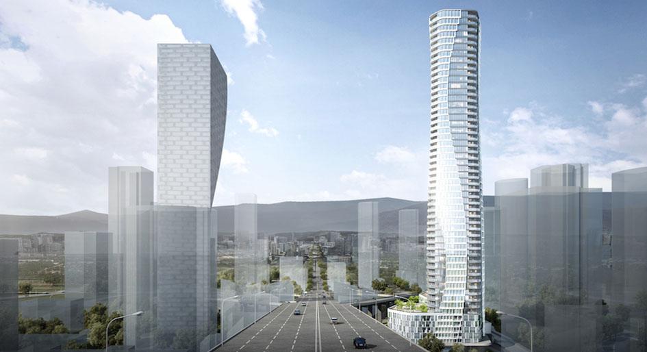 55-storey tower social