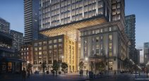 79-storey mixed-use tower will incorporate heritage buildings at podium level