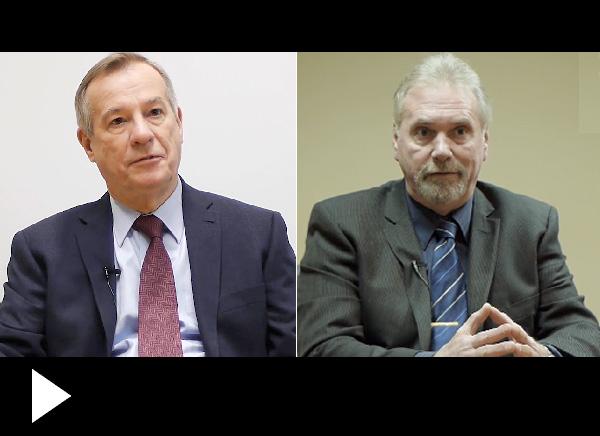Bernard Siedlecki & Terry Runka