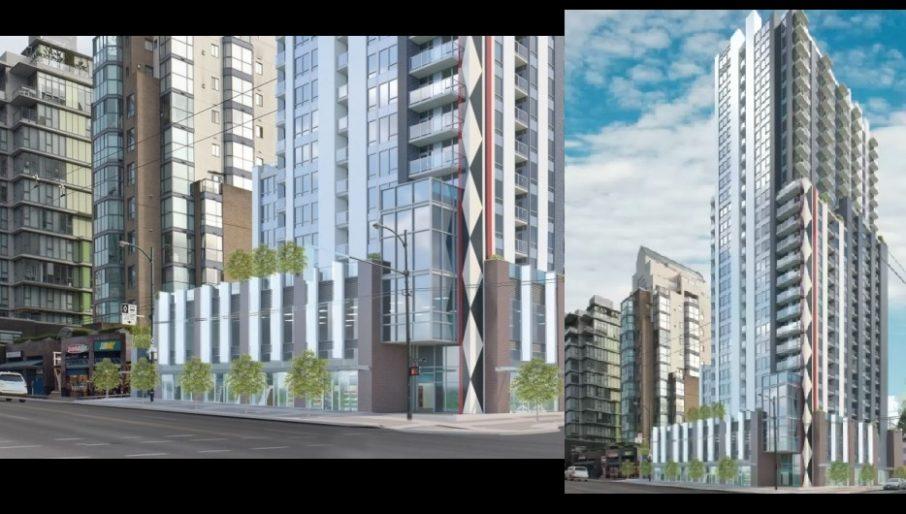 Birch Street rental tower in Vancouver