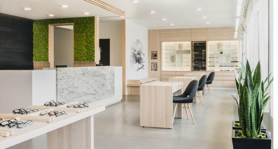 Modern Makeover For Optometry Office REMI Network Mesmerizing Optometry Office Design