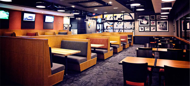 Boston Pizza Unveils New Design