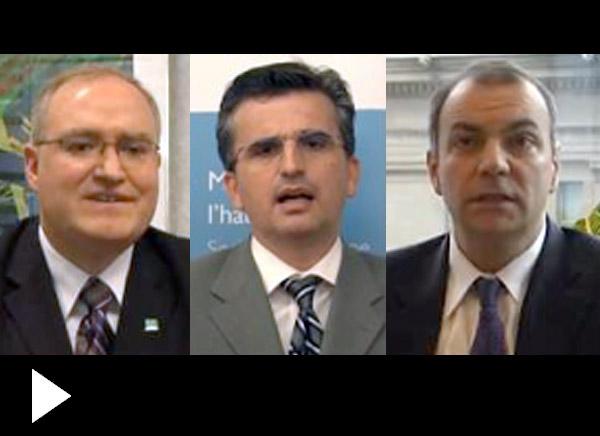 Craig Alexander, Ted Tsiakopoulos, Benjamin Tal