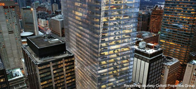 Oxford To Build 40 Storey Office Tower In Toronto