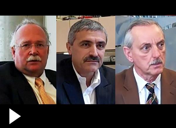 Manley McLachlan, Anibal Valente, Helmut Pastrick