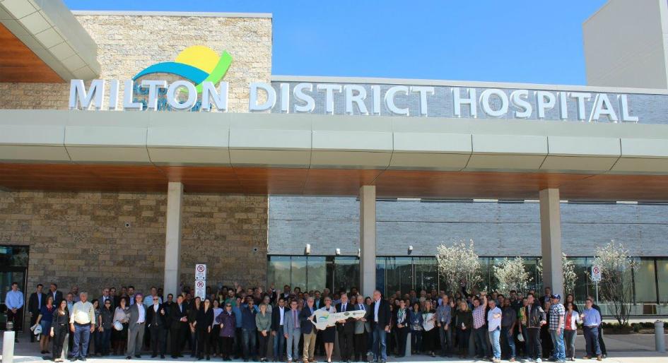 Milton District Hospital Meets Substantial Completion
