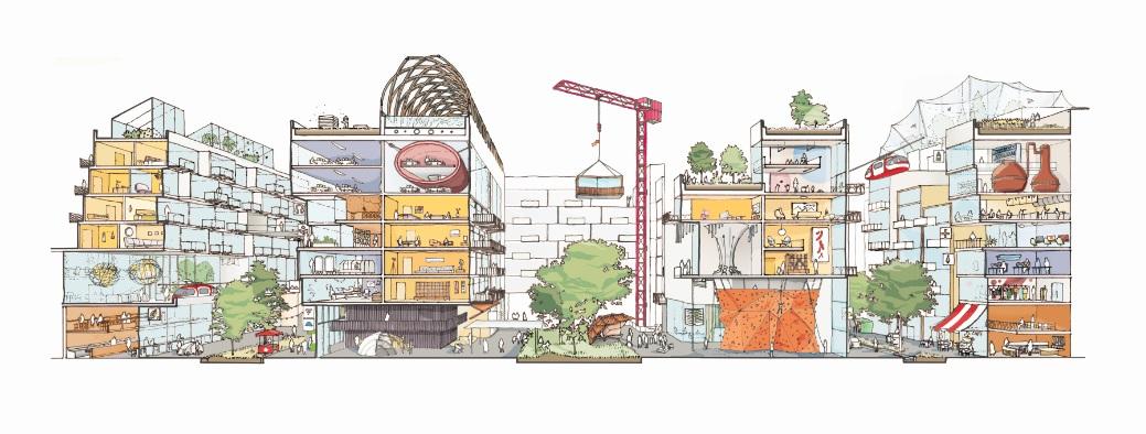 Quayside housing