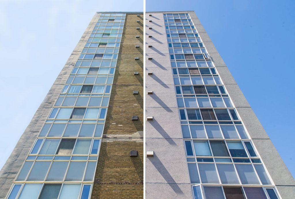 RJC exterior restoration