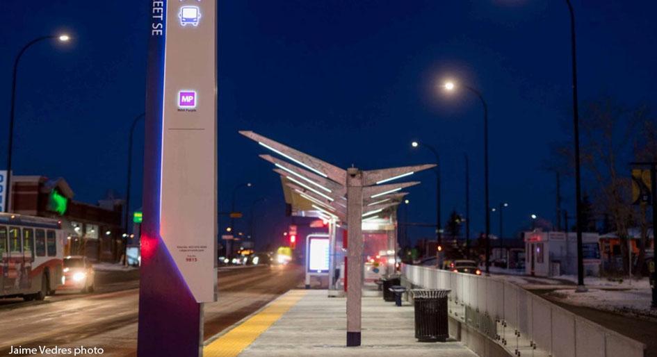 bus rapid transit corridor