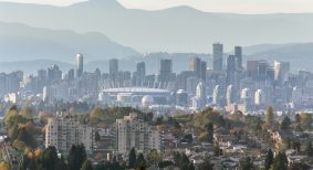 Surrey and Burnaby