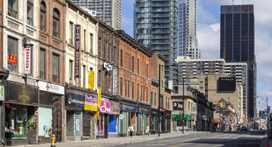 Toronto street front businesses eligible for two new commercial property improvement grants