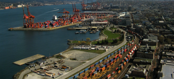 Vancouver port industrial