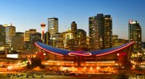 Saddledome demolition