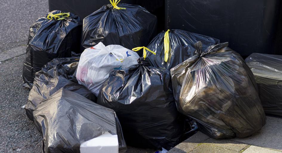 garbage areas
