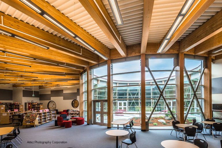 wood school
