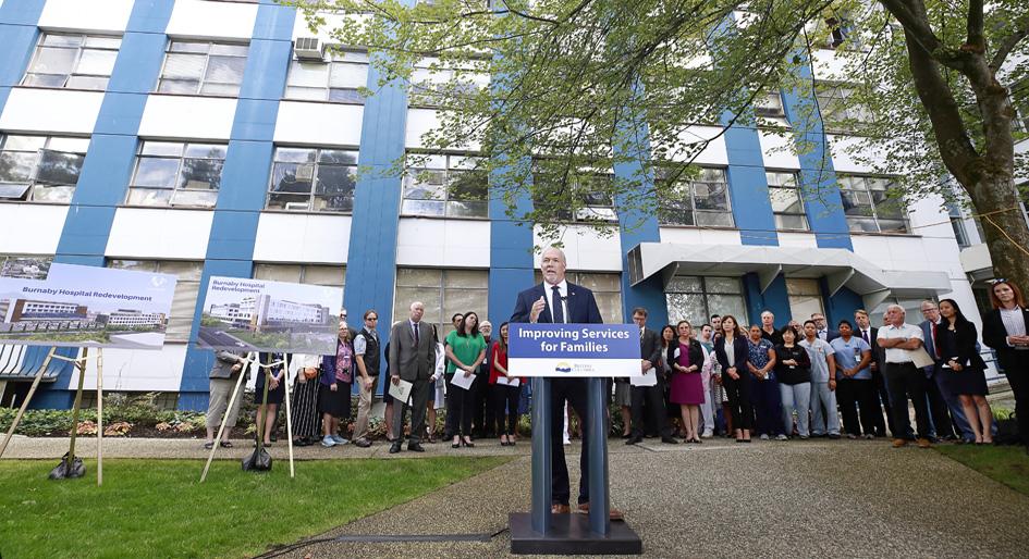 Burnaby Hospital set for $1 3B redevelopment - REMI Network