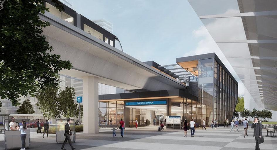 richmond Canada Line station