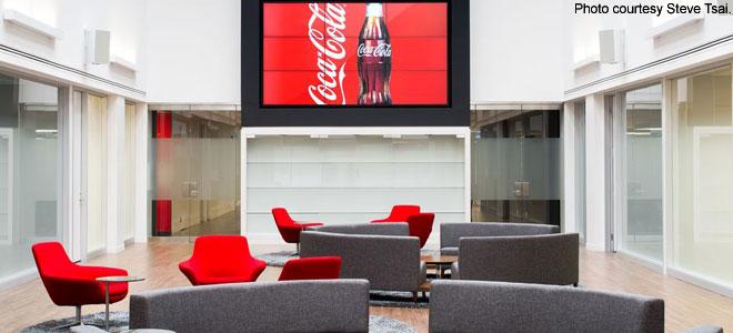 Design That Pops Coca Cola Canada S New Headquarters