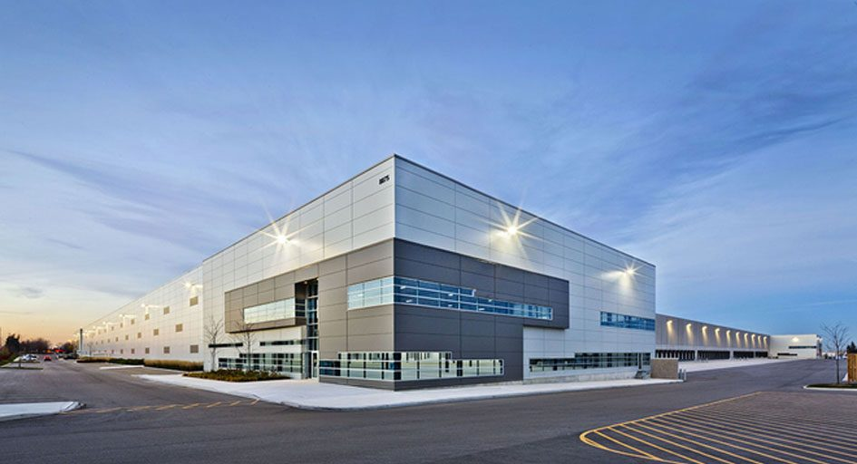 Crec Commercial Fund Buys Green Warehouse on Industrial Building Plans