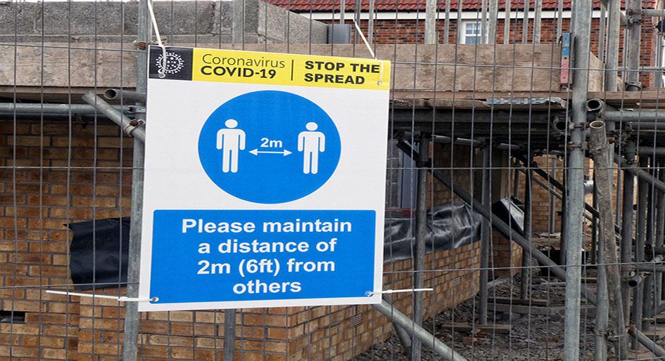 covid construction activity