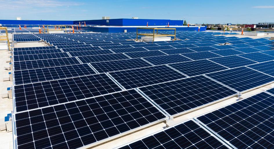ikea canada installs rooftop solar panels on alberta stores. Black Bedroom Furniture Sets. Home Design Ideas
