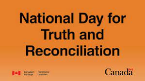 buildings urged to brandish orange for Truth and Reconciliation Week