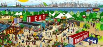 market to lure foodies to van waterfront