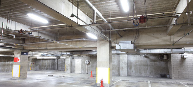 parking garage maintenance