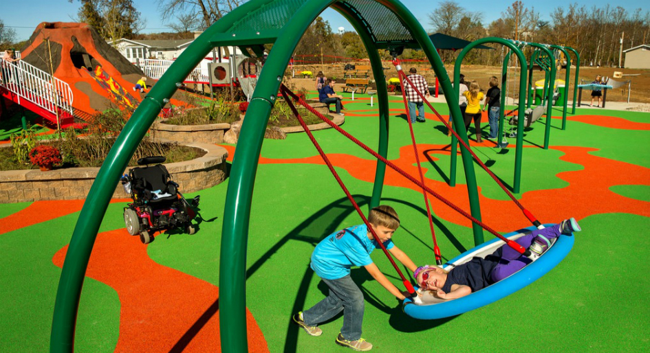 accessible play spaces