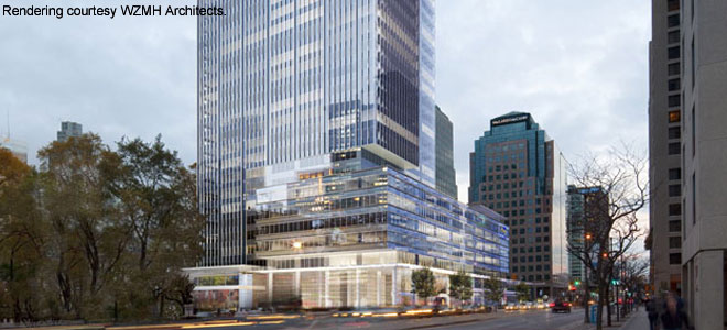 Engineering A Leed Platinum Office Tower Rbc Waterpark Place