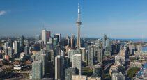 Toronto and Vancouver