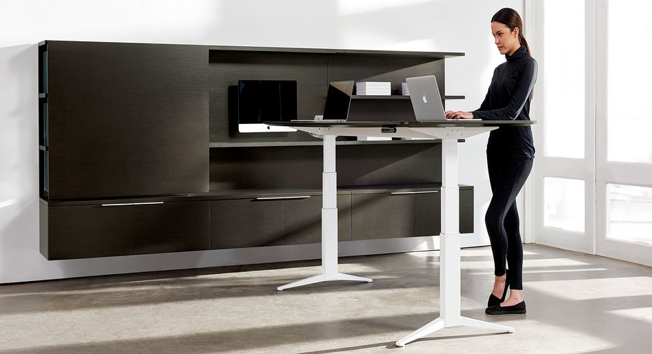 Standing Desks May Cause Lower Back Pain Study