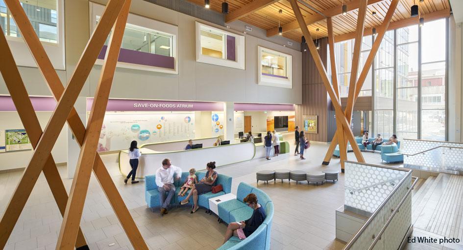 Hospital Corridor Lighting Design: The New B.C. Teck Acute Care Centre Will Enhance Patient
