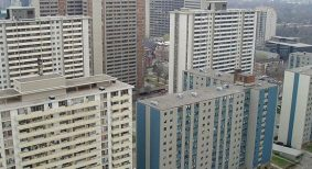aging residential towers