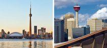 Calgary and Toronto office markets