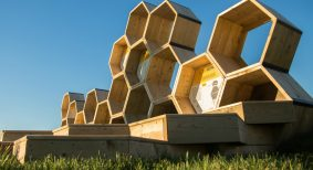 Urban beehive project lead by civiliti and julie margot design  in Montreal, Que.